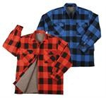 EXTRA HEAVYWEIGHT BRAWNY SHERPA-LINED FLANNEL SHIRTS
