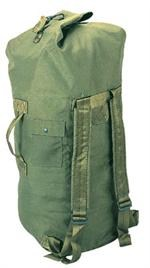 G.I. PLUS OLIVE DRAB HEAVYWEIGHT CORDURA DOUBLE-STRAP DUFFLE BAG