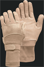 Gloves, Max Grip NT, W/Sleeve, Tan