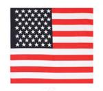 "Bandana - Us Flag - 27"" X 27"""