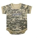 Army Brat Infant One-Piece