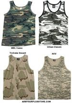 Camouflage Tank Tops
