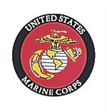 Marine Corps Decal-Back-Gum
