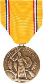 American Defense Service Full Size Medal