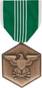 Army Commendation Full Size Medal