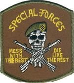 Patch Special Forces Mess With The Best