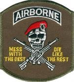Patch Airborne Mess With The Best