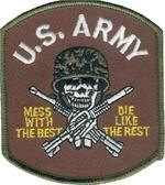 Patch Army Mess With The Best
