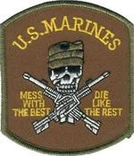 Patch Marine Mess With The Best
