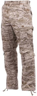 Vintage Paratrooper Fatigue Pants - Camo - Desert Digital