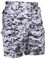 Camo BDU Shorts-City Digital Camo