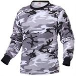 Long Sleeve Camo T-Shirt - City