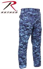 BDU Pants - Digital Camo - Sky Blue