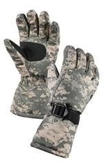 Gloves - Insulated - Extra Long - ACU Digital Camo