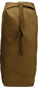 "Duffle Bag - Top Load - 25"" x 42"" - Coyote Brown"