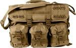 Tactical Laptop Briefcase - MOLLE - Coyote Brown