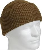 Watch Cap - Wool - Coyote Brown