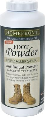 Military Antifungal Foot Powder
