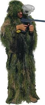 Bushrag Kids Ultralight Ghillie Suit - Woodland