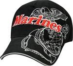 Low Profile Cap - Marines Deluxe - G&A - Black
