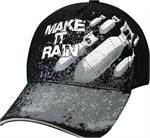 Deluxe Low Pro Cap - Make It Rain - Black
