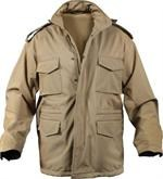 M-65 Soft Shell Tactical Jacket - Coyote Brown