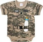 Infant One Piece - ACU Digital - Soldier
