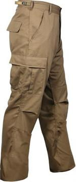 BDU Pants - Solid - Coyote Brown