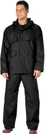 Black Microlite Rainsuit