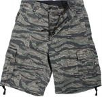 Vintage Infantry Utility Shorts-Tiger Stripe