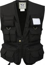 Kids Uncle Milty Vest - Black